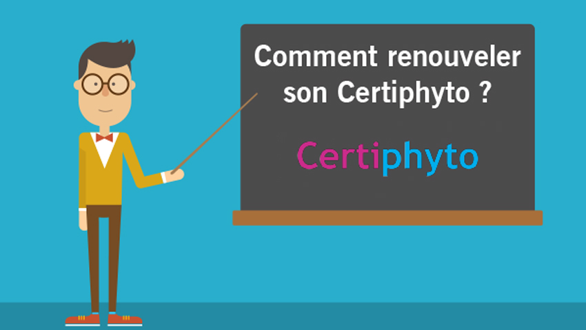Renouvellement Certiphyto